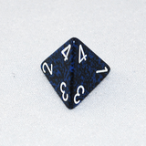 Speckled Stealth 4 Sided Dice
