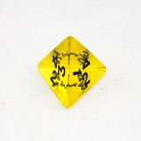 Transparent 4 Sided Dice