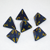 Speckled Twilight 4 Sided Dice