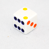 6-Sided Rainbow Spot Dice