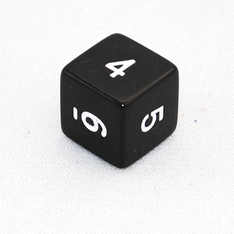 Opaque 6 Sided Dice