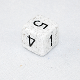 Speckled Arctic 6 Sided Dice
