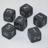 Speckled Hi Tech 6 Sided Dice