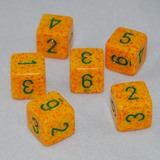Speckled Lotus 6 Sided Dice