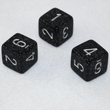 Speckled Ninja 6 Sided Dice