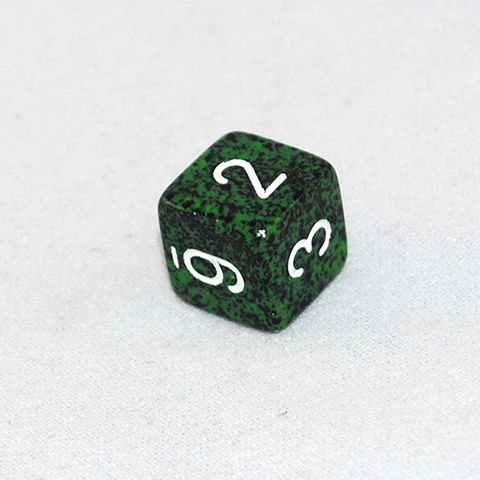 Speckled Recon 6 Sided Dice