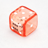 Dice in Dice, 6 Sided, Transparent Double Dice