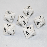 Speckled Arctic 8 Sided Dice