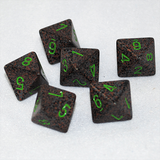 Speckled Earth 8 Sided Dice
