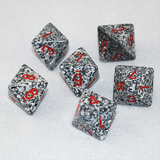 Speckled Granite 8 Sided Dice