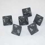 Speckled Hi Tech 8 Sided Dice