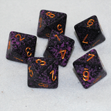 Speckled Hurricane 8 Sided Dice