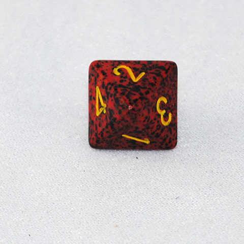 Speckled Mercury 8 Sided Dice
