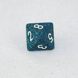 Speckled Sea 8 Sided Dice