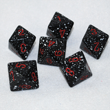Speckled Space 8 Sided Dice