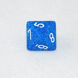 Speckled Water 8 Sided Dice