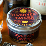 Dwarven Tavern Gaming Candle