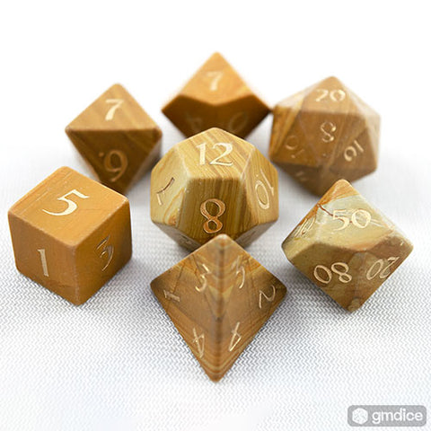 Egyptian Marble Dice Set of the Pharaohs