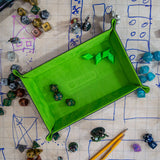 Green Folding Dice Tray