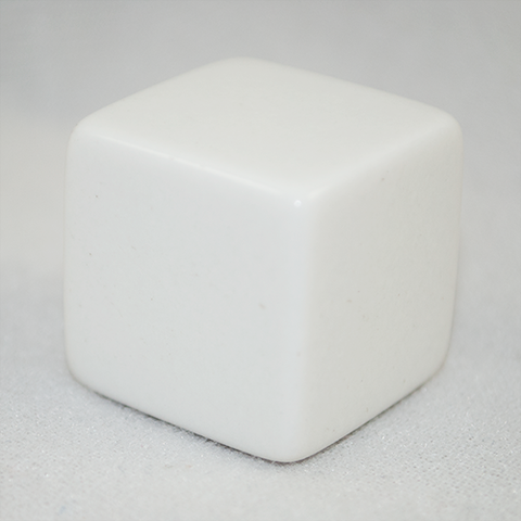 Large 6-Sided Blank Dice
