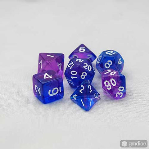 Indigo Sea RPG Dice Set