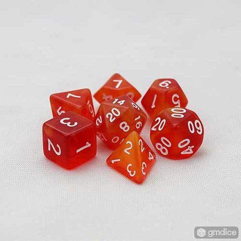 Fireball RPG Dice Set