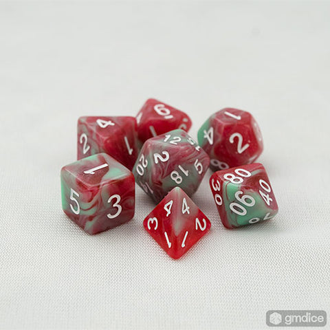 Mistletoe RPG Dice Set