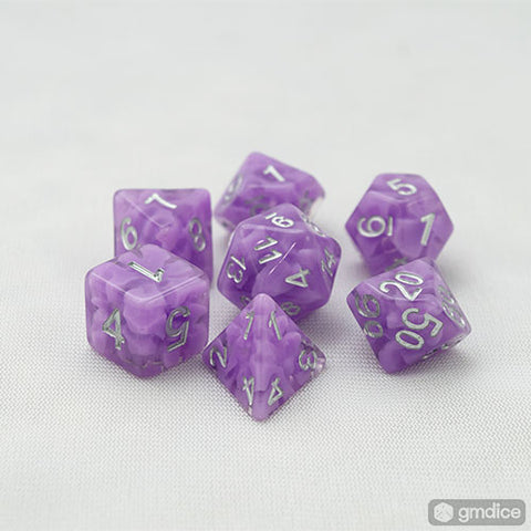 Purple Haze RPG Dice Set