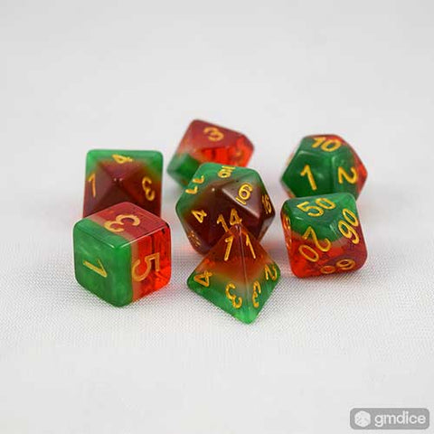 Watermelon RPG Dice Set