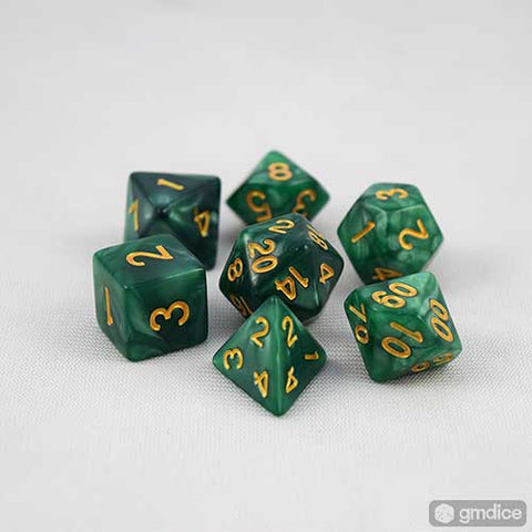 Forest Patrol RPG Dice Set