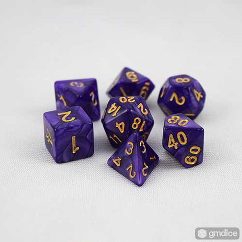 Royal Cloak RPG Dice Set