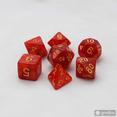 Sorcerer's Guild RPG Dice Set