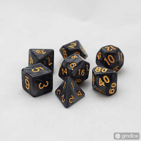 Warlock's Secret RPG Dice Set