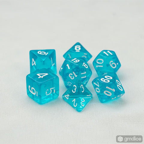 Azure Gems RPG Dice Set