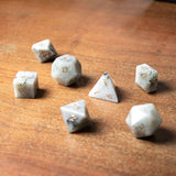 Labradorite Dice Set of Light