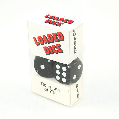 Loaded 6 Sided Dice Set That Rolls Lots of 7's