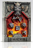 Metal Dwarven Dice (Set of 7)