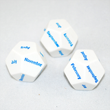 D12 Months of the Year Dice