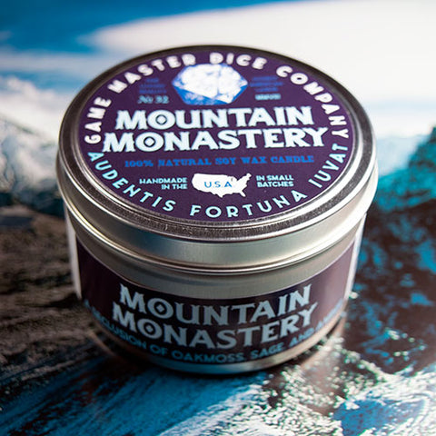 Mountain Monastery Gaming Candle