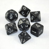 Set of 7 Speckled Ninja Dice