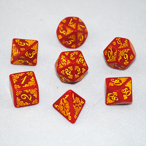 Pathfinder Chronicles: Curse of the Crimson Throne Dice Set