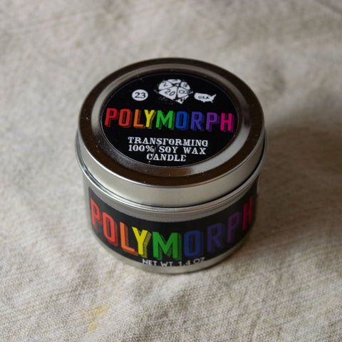 Polymorph Gaming Candle