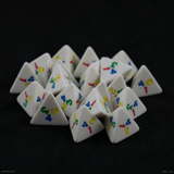 Rainbow 4 Sided Dice