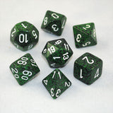 Set of 7 Speckled Recon Dice