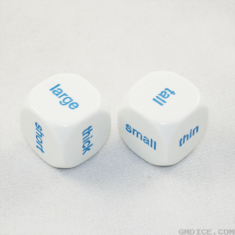 Size Comparison Dice