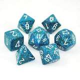 Set of 7 Speckled Sea Dice