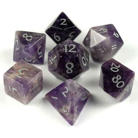 Amethyst Dice Set of Fortitude