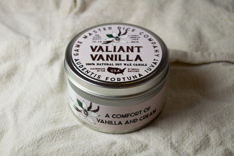Valiant Vanilla Gaming Candle