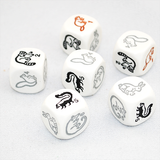 Woodland Creatures Six Sided Dice