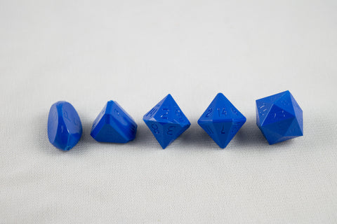 5-Piece Zocchi Originals Gamescience Dice Set (Azure Blue)